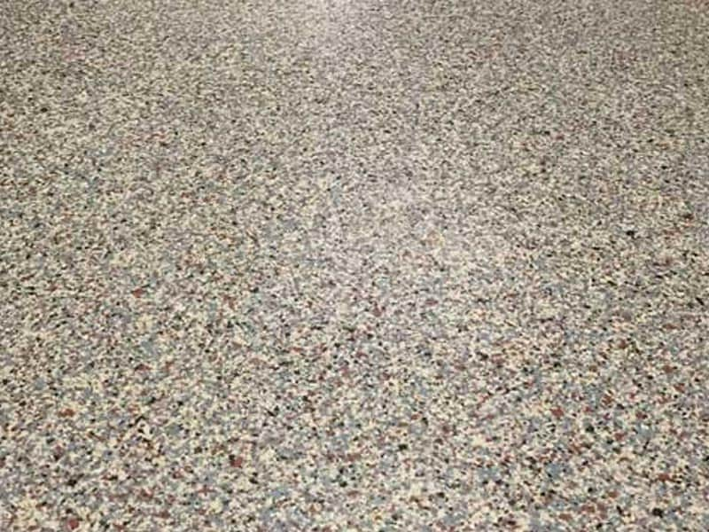 Alternative Paving - Quartz Flake Flooring